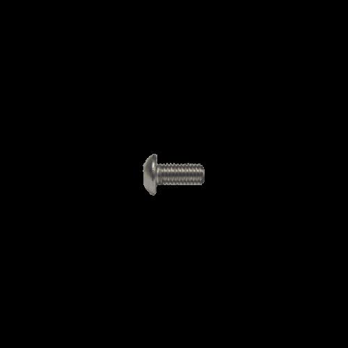 M3x6mm 304 SS Button Head Cap Screw thread (BHCS)