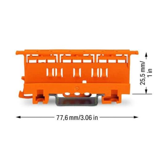 Wago 221-500 Carrier Dimensions