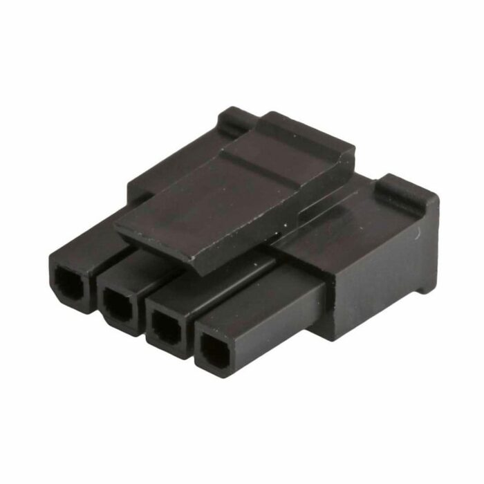 MicroFit3 Connector Receptacle 4 Position 43645-0400