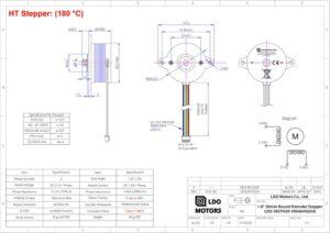 HT-LDO-36STH20-1004AHGXH-pancake-stepper-motor-technical-datasheet